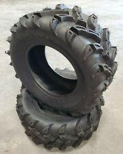 2 New Tires 25 10 12 Reptilian ATV Mud 4 ply 25x10-12 25x10x12 G1