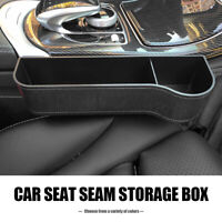 Universal Car Seat Gap Filler Catcher Organizer Pocket Slit Storage Box Right UK