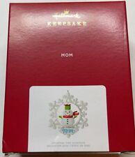 Hallmark 2021 Mom Snowflake Christmas Ornament New with Box