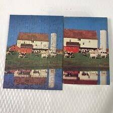 Tuco Puzzle Miniatures Brookside Farm Vintage Triple Tripl Thick Jigsaw