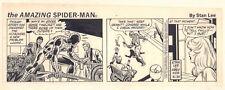 Amazing Spider-Man Daily Strip Spidey Sense Stan Lee 5/31/1982 art by Fred Kida