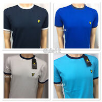 CREW NECK LYLE AND SCOTT SHORT SLEEVE T-SHIRT FOR MEN (DIFFERENT COLLAR)
