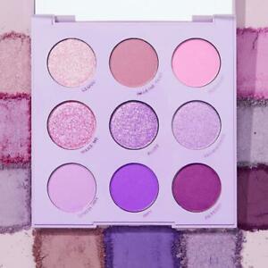 Colourpop Eyeshadow Purple 9 Pan Monochromatic Palette Lilac You A Lot NIB