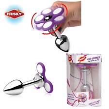 Frisky Light Up Fidget Spinner Anal Plug Ass Spinner Butt Plug Sex Toy