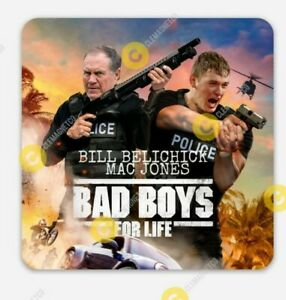 Mac Jones Bill Belichick MAGNET - Bad Boys New England Patriots NFL