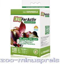 Dennerle E15 Fer Activ 100 Tabletten, ausreichend für  10.000 Li