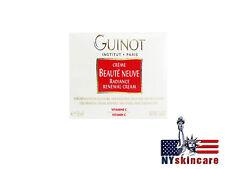 Guinot Beaute Neuve Radiance Cream Creme 50ml/1.7oz Brand New