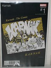KARNAK #1 - Hip Hop Variant - KAARE ANDREWS - Schoolly D Saturday Night - Marvel