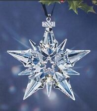 BRAND NEW 2001 LARGE SWAROVSKI CRYSTAL CHRISTMAS ORNAMENT STAR/SNOWFLAKE #267941