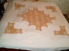 Stylish Beautiful-Vintage-Coverlet-With-Handmade-Lace
