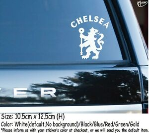 CHELSEA FC Car Stickers England Football Club Stickers Decals 12.5cm Best Gifts