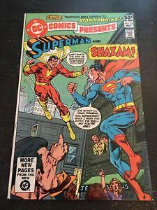 DC Comics Presents#33 Incredible Condition 9.2(1981) Vs Shazam,Buckler Art