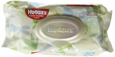 Huggies Natural Care Baby Wipe Soft Pack Aloe / Vitamin E Unscented Pack of 56