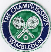 [Patch] WIMBLEDON THE CHAMPIONSHIPS diametro cm 5 toppa ricamo REPLICA -1050