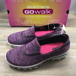 Women's Skechers Go Walk Shoe GoWalk Lightweight - Multi Knit (Pick Size)