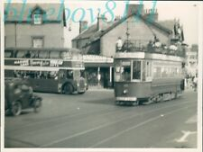 Photograph 1955 Llandudno -Colwyn Bay Tramway open air Tram No 13 ORIGINAL