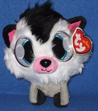 TY WHITE FANG BEANIE BABY (MOSHI MONSTERS) - UK EXCLUSIVE - MINT with MINT TAG