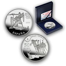 ESPAÑA  50 euro plata 2009 DALÍ  (Cincuentin) Pintores Españoles