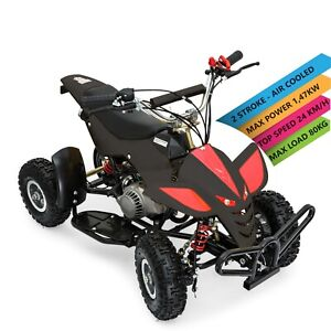 49cc Mini Moto Kids Quad Bike ATV Petrol Pit Motorbike Auto 50cc Ride On Junior