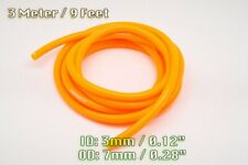 3 METRE ORANGE SILICONE VACUUM HOSE AIR ENGINE BAY DRESS UP 3MM FIT NISSAN