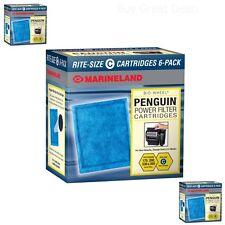 New Marineland Rite-Size 6 Cartridge C Water Fish Filter Purification Cartridges