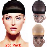 Wig Cap for Wig Wearing Hair Net Womens Snood Elastic Hair Net Wig Liner