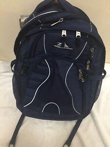 NWT High Sierra Swerve Laptop Backpack True Navy 17 inch Laptop Tablet Organizer