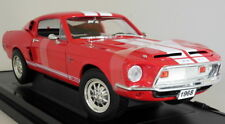 Road Signature 1/18 Scale 92168 1968 Shelby GT-500 KR Red Diecast Model Car