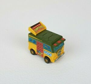 Vintage 1988 Bandai Teenage Mutant Hero Turtles Mini Machines Pullback Party Van