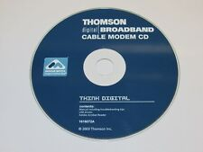 THOMSON Digital Broadband Cable Modem 2003 Driver CD 1616072A CD ONLY