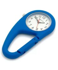 Ravel Clip-On Carabiner Watch Hiking Camping Doctor Paramedic Etc Blue R1105.06