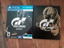 Gran Turismo Sport: Limited steelbook Edition (Sony PlayStation 4, 2016)