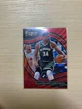 20-21 PANINI SELECT TMALL RED WAVE PRIZM COURTSIDE GIANNIS ANTETOKOUNMPO HOT
