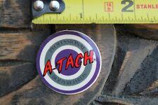 A-Tach Bodyboards Pro Body Boards Target Og 80's Purple Red V19a Surfing Sticker