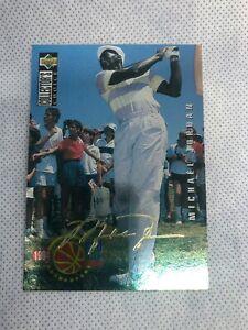 1994-95 Collector's Choice Michael Jordan Gold Auto PRO Files #204