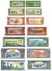 LAOS - LOTTO Lot 7 banconote 5/10/20/50/100/500/1000 kip FDS - UNC