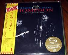 Richard & Linda Thompson - In Concert, November 1975 JAPAN Mini LP SHM-CD NEW