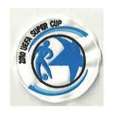 [Patch] UEFA SUPER CUP 2010 diam. cm 7,5 toppa ricamata ricamo termoadesiva -132