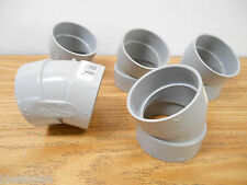 Lot Of 5 Nutone 386 386-75 30 Degree Elbow For Central Vac System