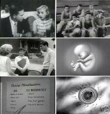 Sex Education Reproduction Puberty Historical Vintage Films 1930s To 1950s DVD