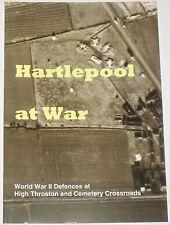 HARTLEPOOL DEFENCES WW2 Pillbox Bunker Shelter History Tank Traps High Throston