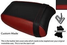 BLACK & DARK RED CUSTOM FITS TRIUMPH THUNDERBIRD 1700 1600 REAR SEAT COVER