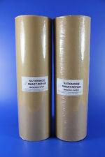 "**Two** 18"" (450mm) Brown Masking Paper Rolls - Each-50GSM 180mtr - Smart Repair"