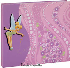 Disney TINKERBELL FAIRY 8x8 Scrapbook Album EK SUCCESS