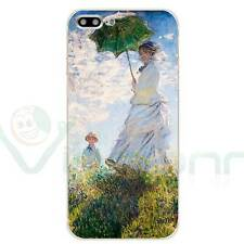 "Custodia cover flessibile arte per Apple iPhone 7 Plus 5.5"" MONET passeggiata"