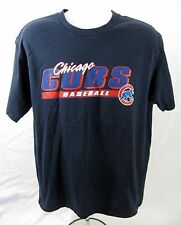 MLB Chicago Cubs Black T Shirt Size Large