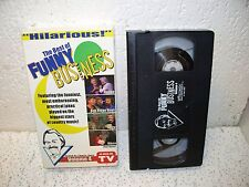 Best of Funny Business Vol. 4 VHS Video Jerry Clower Kenny Rogers Vince Gill