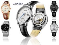 CADISEN Men Watches Automatic Mechanical WristWatch MIYOTA 9015 Top Brand NEW