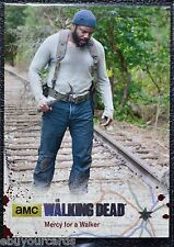 Walking Dead Season 4 Silver Numbered Parallel Base Trading Card #63 83/99