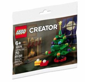 LEGO 30576 Creator Christmas Tree PolyBag (2020, BNIB)